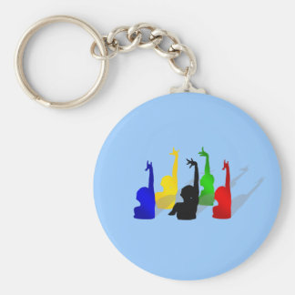 Synchronised swimming Synchronised swimmers Key Ring