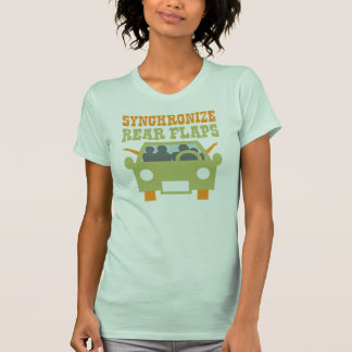 Synchronize Rear Flaps T-Shirt