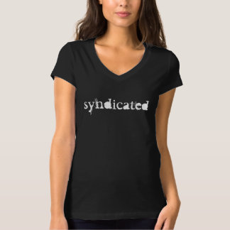 Syndicated black women's T Shirts