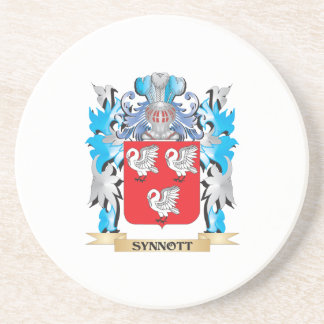 Synnott Coat of Arms - Family Crest Coaster