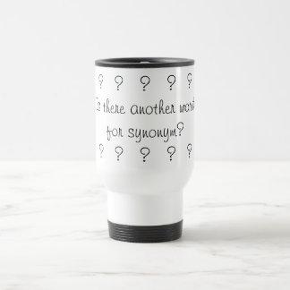 Synonym for synonym mug