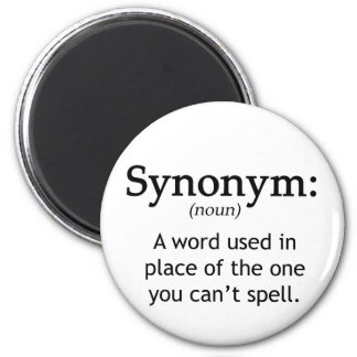 Synonym Refrigerator Magnet
