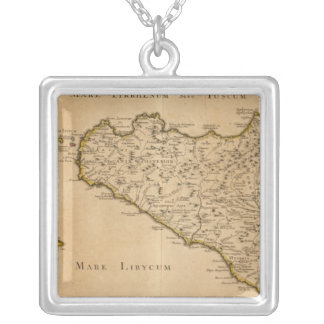 Syracuse and Italy Silver Plated Necklace