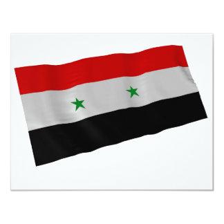 syria 11 cm x 14 cm invitation card