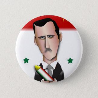 Syria 6 Cm Round Badge