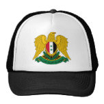 syria coat of arms trucker hats