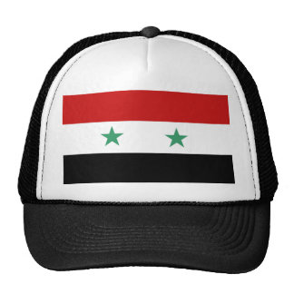 Syria country flag nation symbol cap