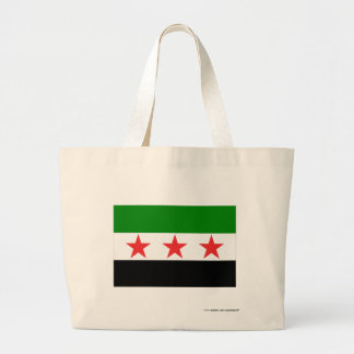 Syria Flag (1932-1958 and 1961-1963) Tote Bag