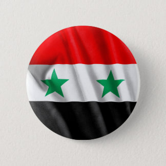 Syria Flag 2 Inch Round Button