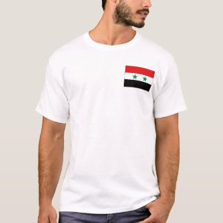 Syria Flag and Map T-Shirt