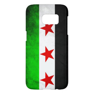 Syria Flag Apple iPhone 7 Samsung case Back Cover