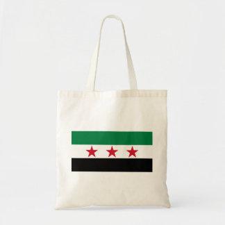 Syria Flag Budget Tote Bag