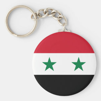 Syria Flag Key Ring