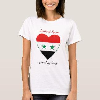 Syria Flag Sweetheart T-Shirt