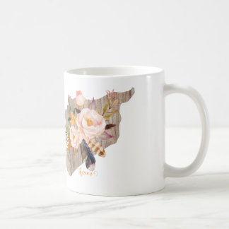 Syria (Flowers Map) Coffee Mug