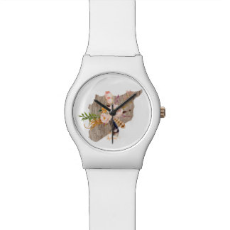 Syria (Flowers Map) Watch