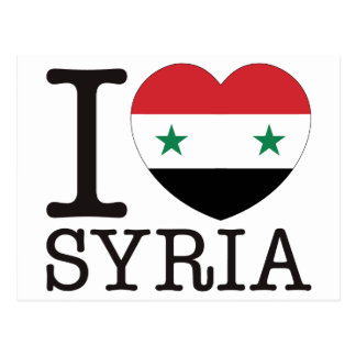 Syria Love v2 Postcard
