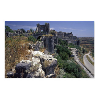 Syria, Marqab Castle, Crusaders castle located Photograph