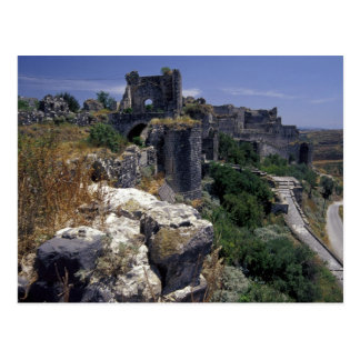 Syria, Marqab Castle, Crusaders castle located Postcard