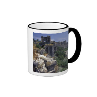 Syria, Marqab Castle, Crusaders castle located Ringer Mug