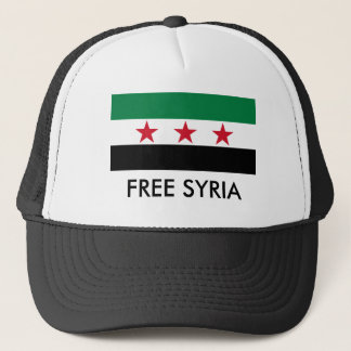 syria opposition trucker hat