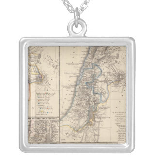 Syria Phoenice, Syria Palaestina Silver Plated Necklace