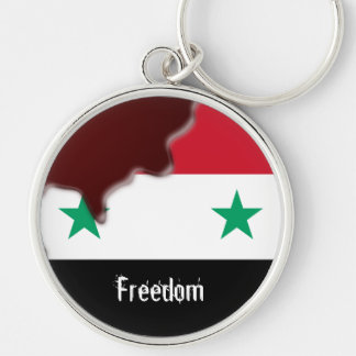 Syria Revolution Arab Spring We are all.. Key Ring