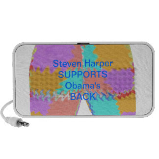 SYRIA : Steven Harper BACKS Obama Mp3 Speaker