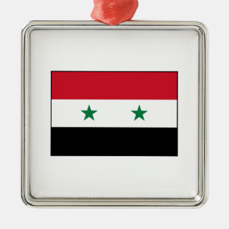 Syria – Syrian Flag Christmas Ornament