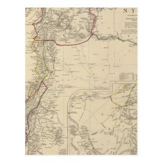 Syria to Sinai Postcard