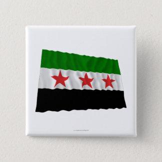 Syria Waving Flag (1932-1958 and 1961-1963) 15 Cm Square Badge
