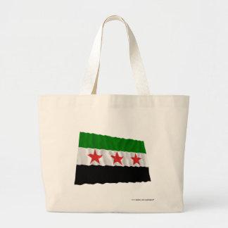 Syria Waving Flag (1932-1958 and 1961-1963) Jumbo Tote Bag