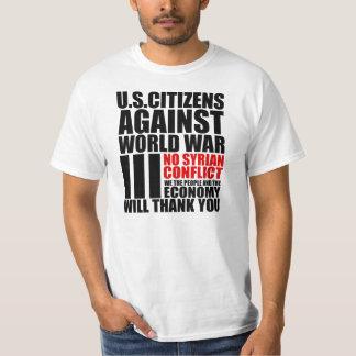Syria = World War III T-Shirt