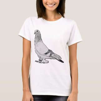 Syrian Coop Tumbler Fancy Pigeon T-Shirt