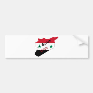 Syrian crisis bumper stickers