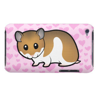 Syrian Hamster Love iPod Case-Mate Case