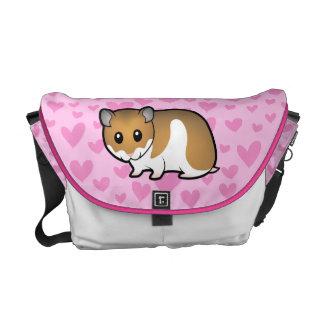 Syrian Hamster Love Commuter Bag