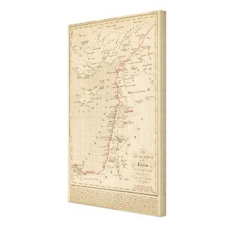 Syrie et de la Palestine, 624 ans apres JC Canvas Print