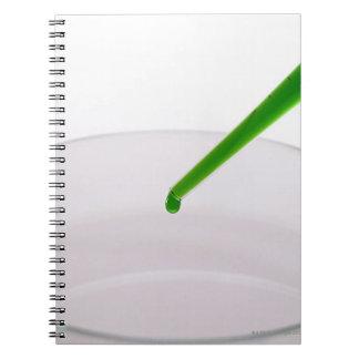Syringe Spiral Notebook