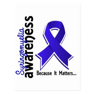 Syringomyelia Awareness 5 Postcard