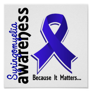 Syringomyelia Awareness 5 Poster