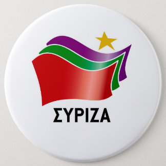 SYRIZA 6 CM ROUND BADGE