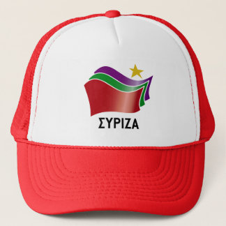 syriza trucker hat