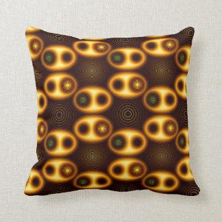 System - Throw Pillow by Vibrata