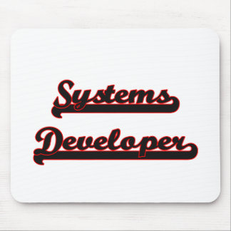 Systems Developer Classic Job Design Mouse Pad