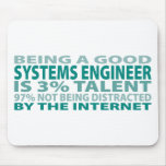 Systems Engineer 3% Talent Mouse Mat