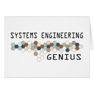 Systems Engineering Genius Cards