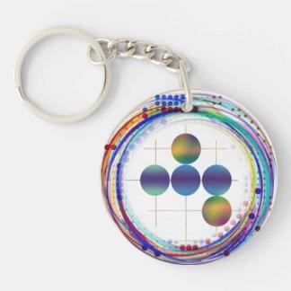 Syzygy Co Medallion Round Acrylic Key Chains