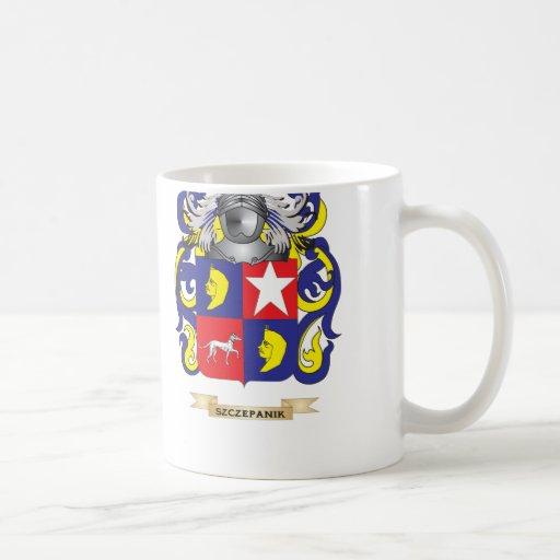 Szczepanik Coat of Arms (Family Crest) Coffee Mugs