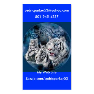 t11, cedricparker53@yahoo.com, 501-945-4237, Za... Pack Of Standard Business Cards